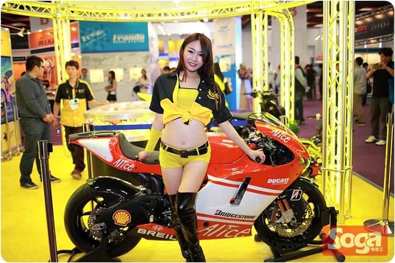 2014-台北世貿機車展-showgirl