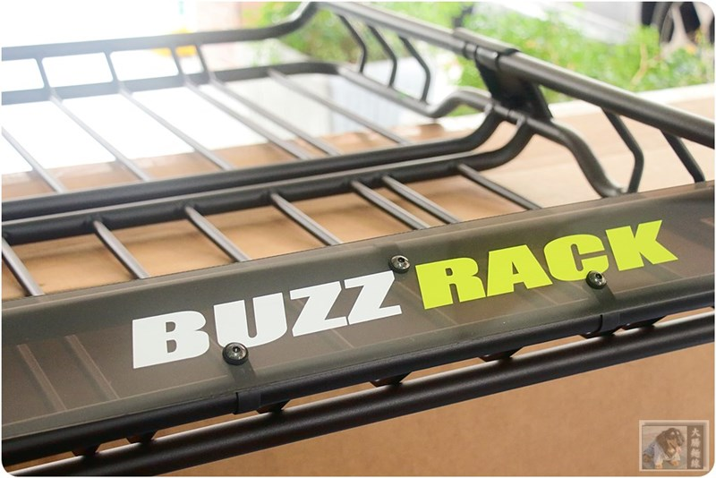 Buzzrack 置物籃含擾流板