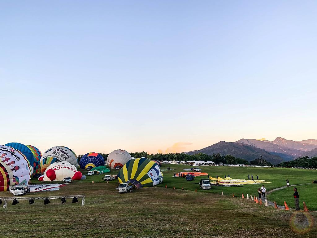 台東熱氣球露營